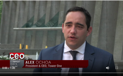 Alex Ochoa CEO of Tower One Wireless on South America Infrastructure